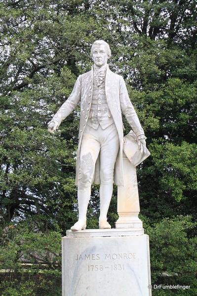 Statue of President James Monroe, Ash-Park Highland