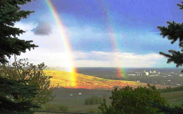 Calgary skies 11 Rainbow