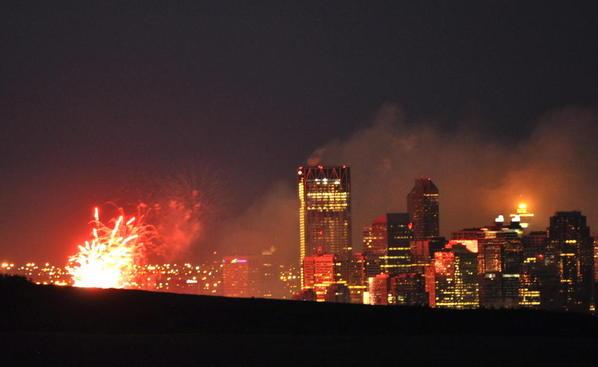 Calgary skies 15 Fireworks
