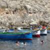 P1050984: boats at Wied Il-Zurrieq (Zurrieq Valley)