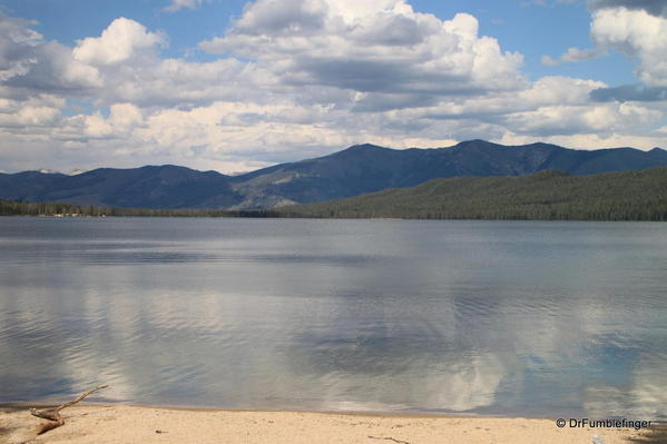 Alturas Lake -- Viewed from west shore