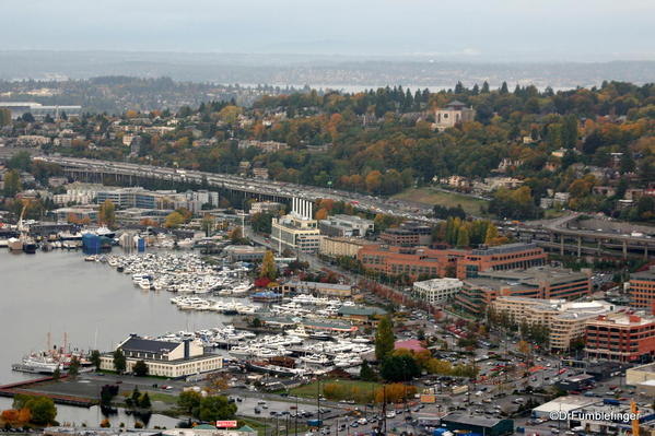 WITW 005 View from the Space Needle northeast, Lake Union
