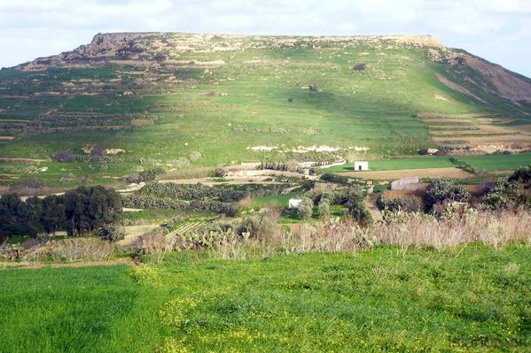 green hills of Gozo