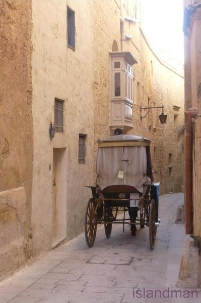 Karozzin through Mdina