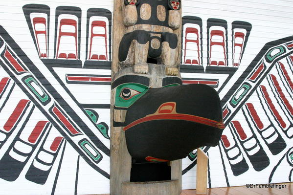 Details of totem, Grand Hall, Museum of Civilization