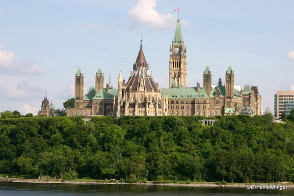 View of the Houses of Parliament, Ottawa