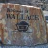 Wallace, Idaho -- Mining display at the Visitor Center: Silver mining capital of the world