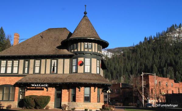 Wallace, Idaho -- Northern Pacific Depot Museum