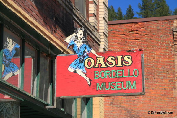 Wallace, Idaho -- Oasis Bordello Museum