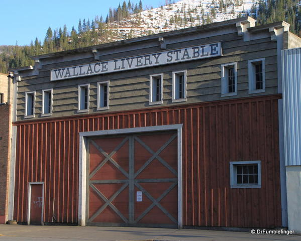 Wallace, Idaho -- Livery Stable