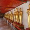 Buddha statues, Wat Pho, Thailand