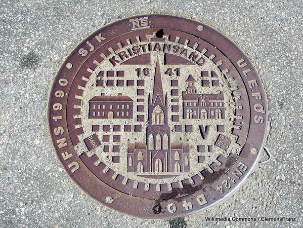 1-Schachtdeckel_Kristiansand
