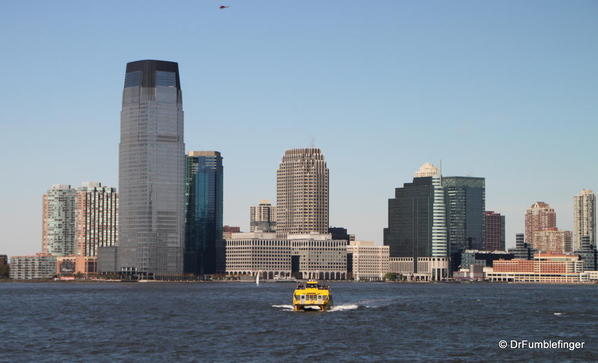 New Jersey waterfront and water taxi