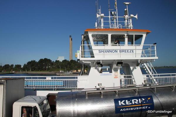 Tarbert Ferry over the River Shannon