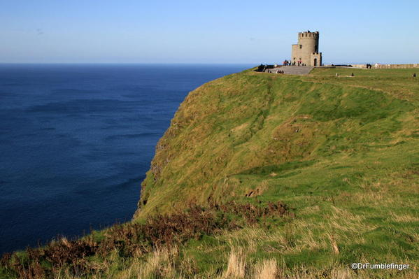 Cliffs of Moher. O'Brien's Tower