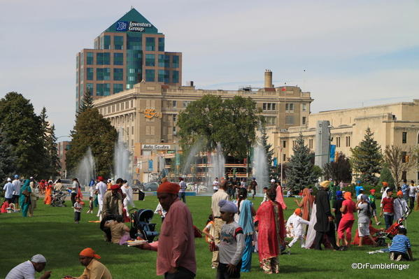 008 Winnipeg. Sikh gathering