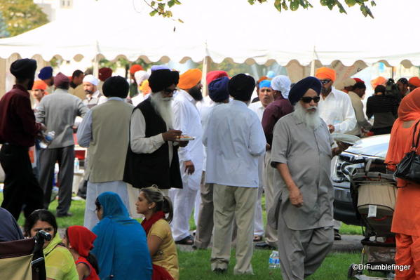 009 Winnipeg. Sikh gathering