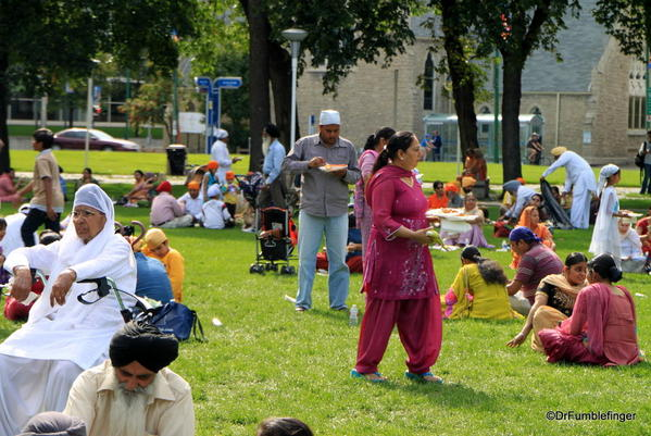 011 Winnipeg. Sikh gathering