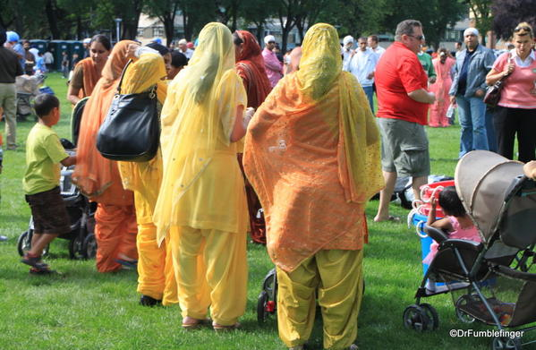 014 Winnipeg. Sikh gathering