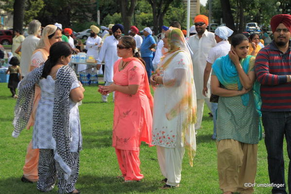 015 Winnipeg. Sikh gathering