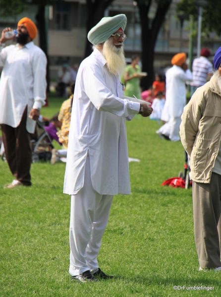 017 Winnipeg. Sikh gathering