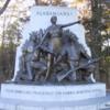 Dusk at Gettysburg, Pennsylvania.