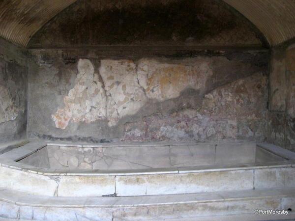 Herculaneum, bath.