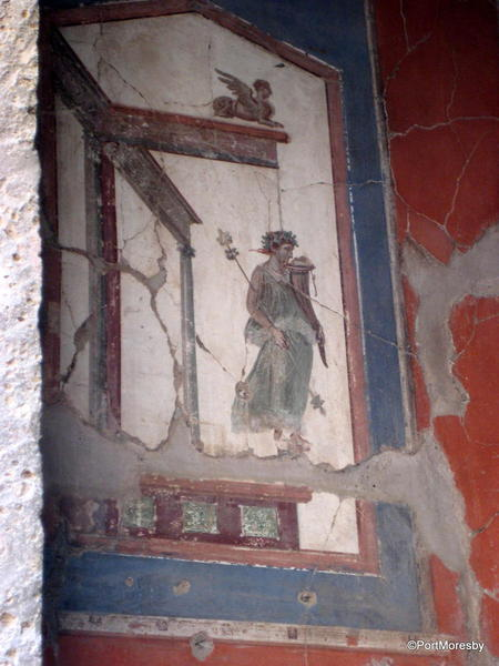 Domestic fresco.