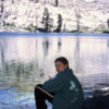 My oldest son at Ostrander Lake.