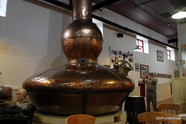 Antrim Coast. Bushmill's Distillery