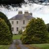 Antrim Coast.  Mansion near Dark Hedges