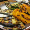 Grilled vegetables -- amazingly good!