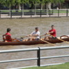 Rowing in El Tigre, Argentina
