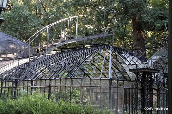 Buenos Aires, Jardin Botanico. Greenhouse