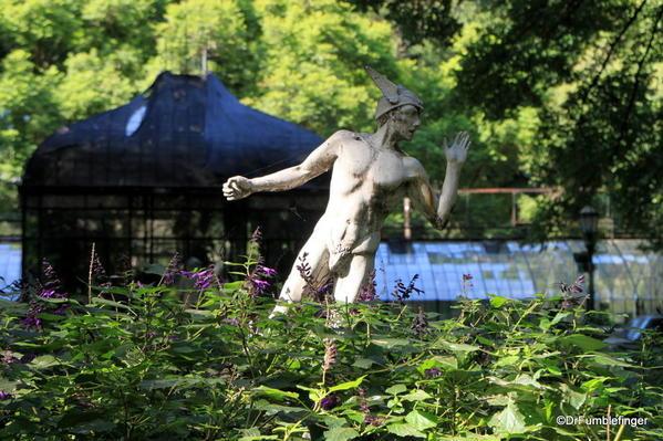 Buenos Aires, Jardin Botanico. Mercury