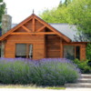 Street Scenes, El Calafate: A lovely home with a luxuriant growth of lavander