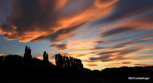 Sunset in El Calafate