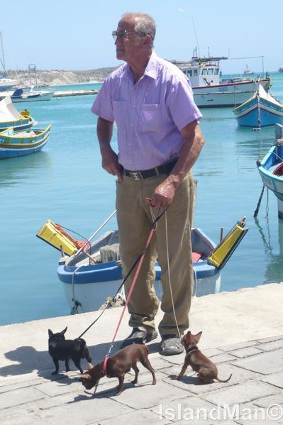Dog Man of Marsaxlokk