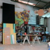 Street art in Villa Crespo. Jaz's studio