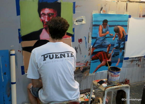 Graffitimundo Buenos Aires 2014 129 Villa Crespo Jaz's studio.