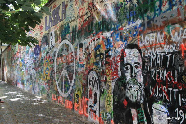 John Lennon Wall Prague 1