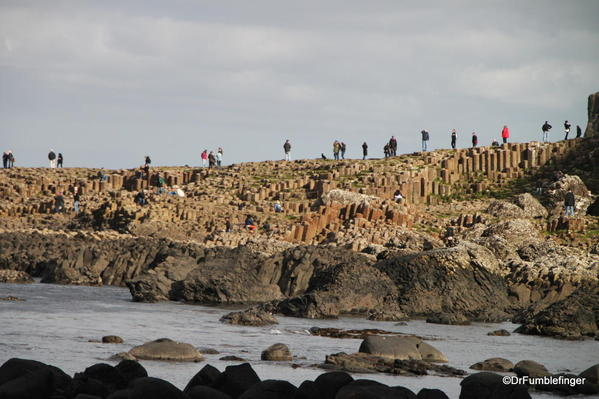 First views of the Giant's Causeway