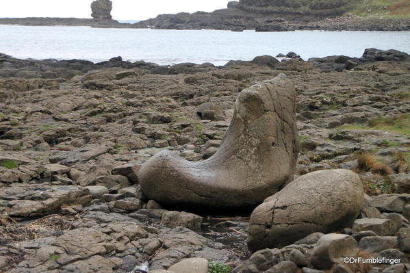 The Giants shoe on The Giant's Causeway