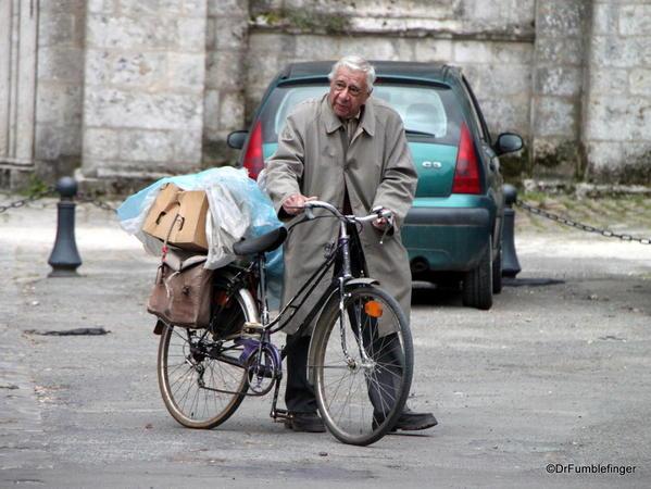 POD 005a Jan 27, 2014. Man on Bike, Chartres