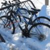Bikes in Winter.