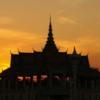 Phnom Penh-8122: The Palace at dusk