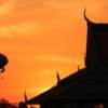Phnom Penh-8126: The Palace at dusk