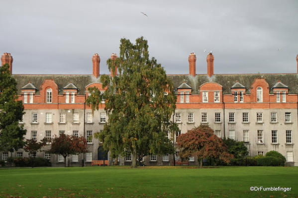 Student Domitory & Rugby field, Trinity College, Dublin