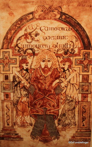 Sample of the Book of Kells, Trinity College Library