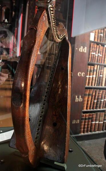 15th century Brian Boru Harp, Trinity College Library, Dublin
